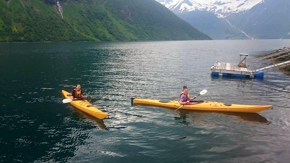 Kajakk i Norangsfjorden
