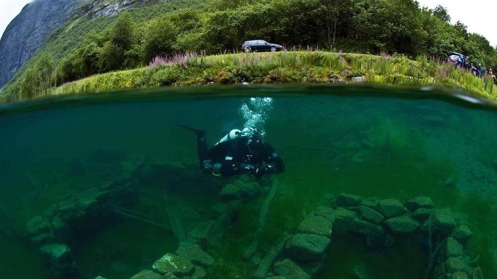 Lyngstøylsvatnet i Norangsdalen